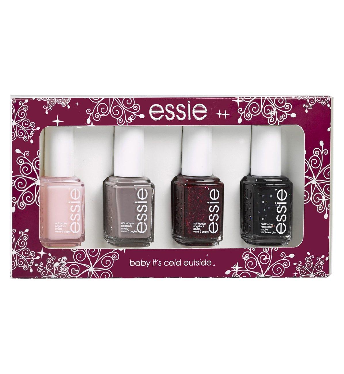 essie Original Nail Polish, Gift Sets, Christmas Quad Box: Amazon.co ...
