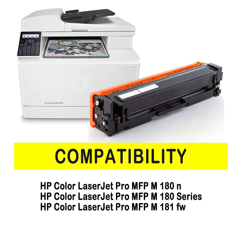 beedete 4 x Cartucho de tóner para HP COMPATIBLES 205 A/cf530 a ...
