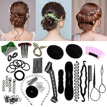 plus de photos meilleure sélection de détaillant en ligne HY-Angel Accessoires de Coiffure, 90 pcs Hair Styling ...
