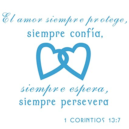Amazon com: 1st Corinthians 13 Religious Wall Decal-1