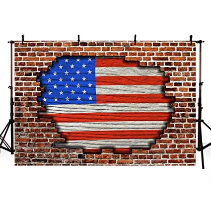 amazon com comophoto american flag backdrop for 4th of july