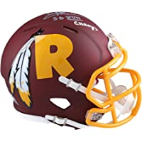 "$112 » Joe Theismann Washington Redskins Autographed Riddell AMP Speed Mini Helmet with""SB XVII Champ"" Inscription - Fanatics Authentic Certified"