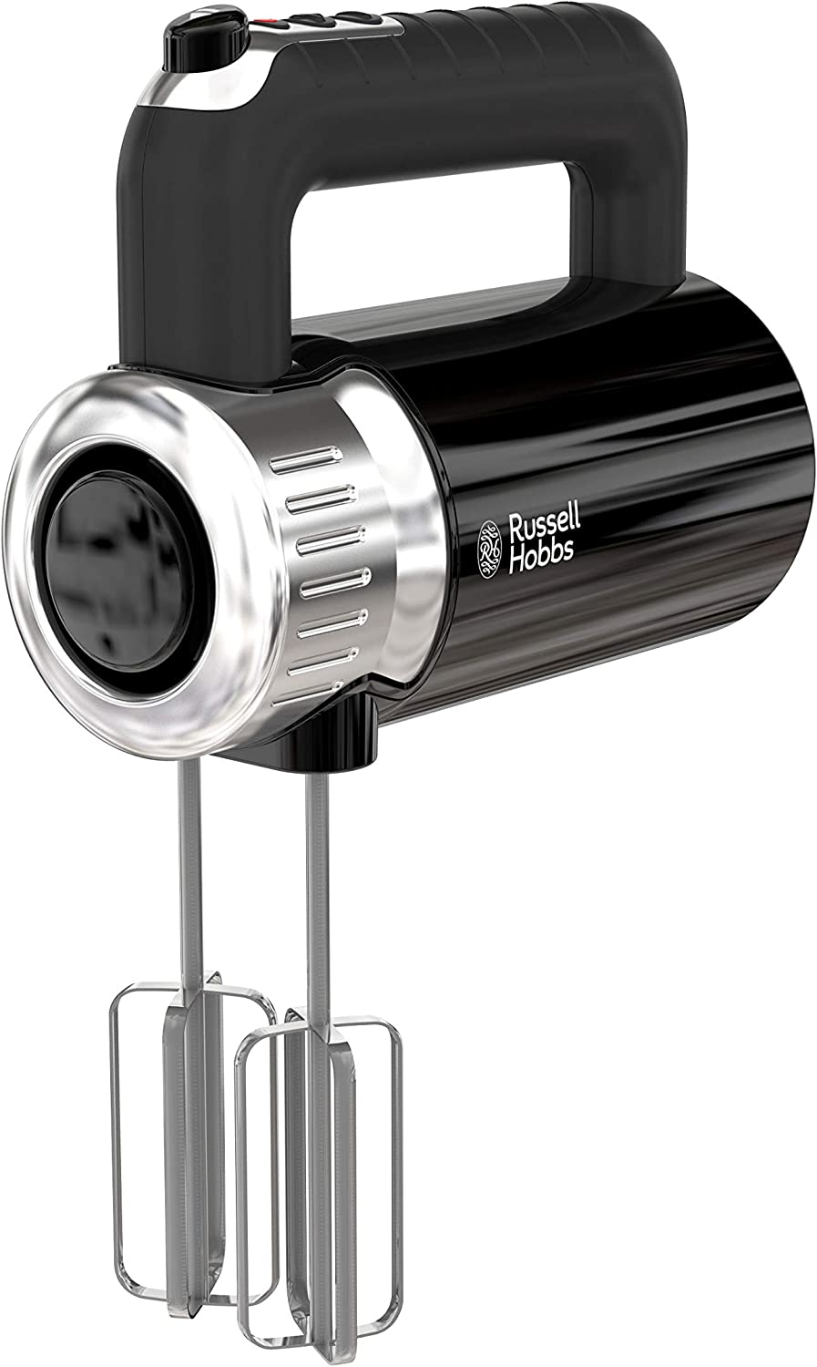 Russell Hobbs MX3100RDR Retro Style Hand Mixer, 4 Speeds + Turbo Boost, Black