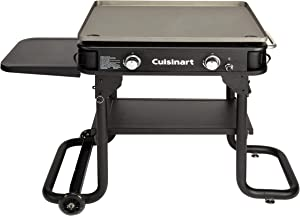 Cuisinart Flat Top Professional Quality Propane CGG-0028, Two-Burner Gas Griddle, 28""