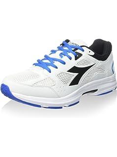 Diadora Unisex-Erwachsene Shape 5 Sneaker, Reinweiß/Schwarz, 44 EU