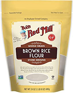 product image for Bob's Red Mill Gluten Free Brown Rice Flour 24 ounce (Pack of 2)