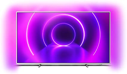 Televisor Philips Ambilight 70PUS8505/12, Smart TV de 70 pulgadas (4K UHD, P5 Perfect Picture Engine, Dolby Vision, Dolby Atmos, Control de voz, Android TV), Color plata claro (modelo de 2020/2021): Amazon.es: Electrónica