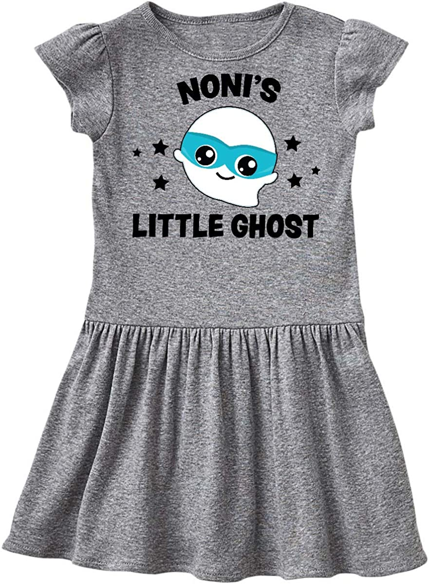 inktastic Cute Nonis Little Ghost with Stars Infant Tutu Bodysuit