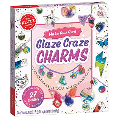 Klutz Make Your Own Glaze Craze Charms Craft Kit: Toys & Games