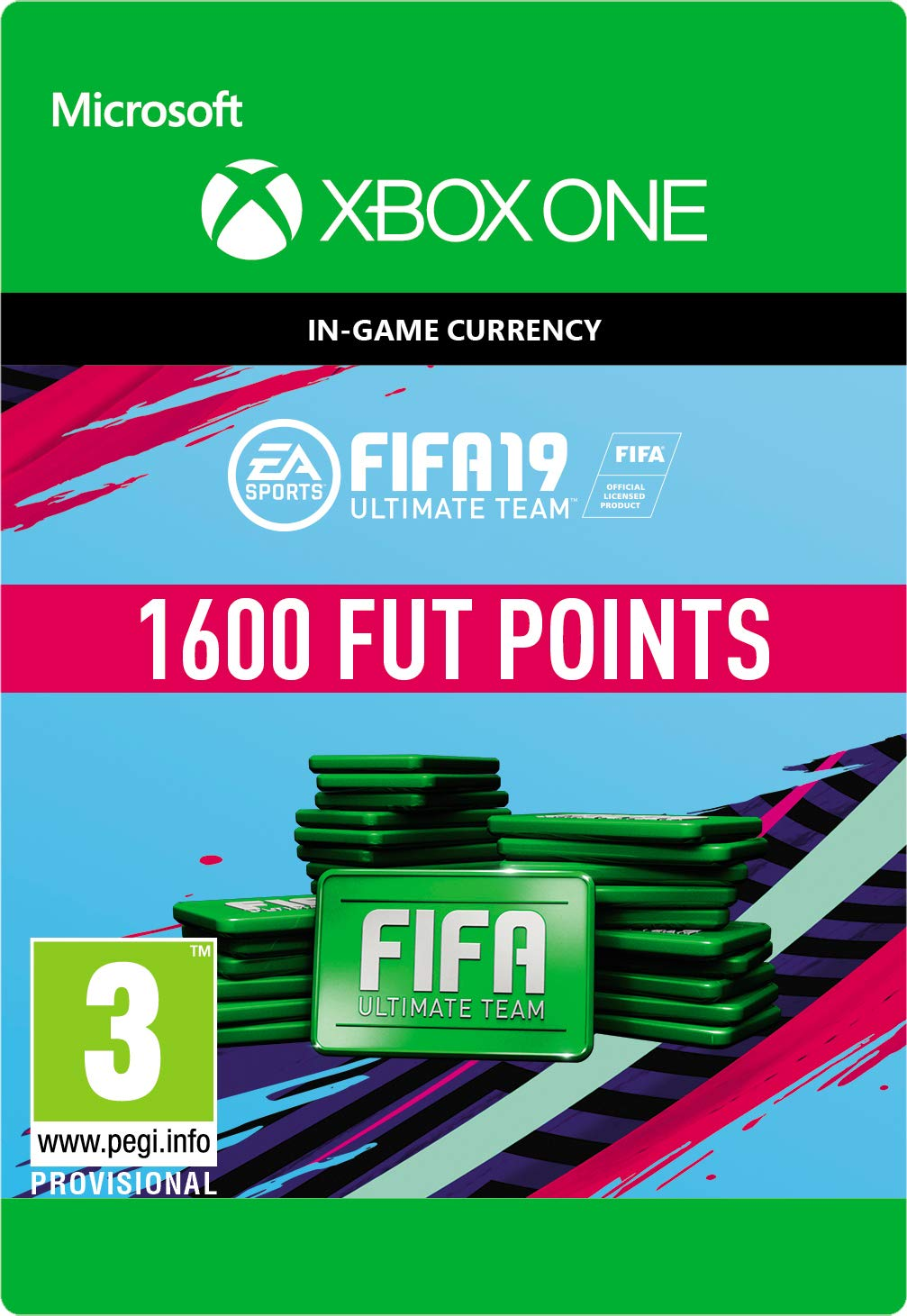 FIFA 19 Ultimate Team - 1600 FIFA Points   Xbox One