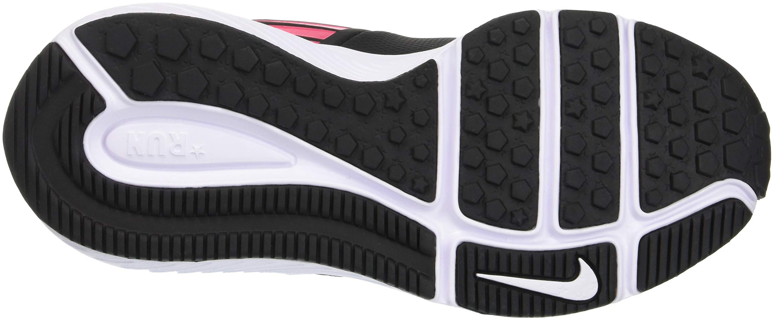 Nike Girl's Star Runner (PSV) Pre-School Shoe Black/Metallic Silver/Racer Pink/Volt Size 1.5 M US by Nike (Image #3)
