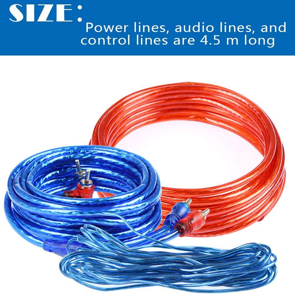 Atpwonz 8ga Car Audio Wire Wiring Amplifier Subwoofer Elektronik
