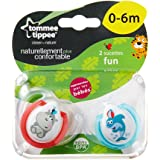 Tommee Tippee Soother (0-6 Months,Assorted Colors)