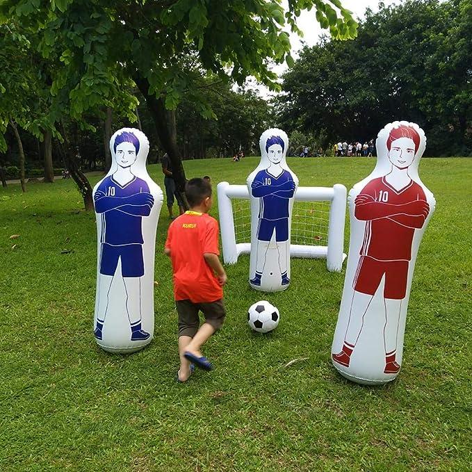 WUYANSE - Maniquí Hinchable de fútbol para Entrenamiento con ...