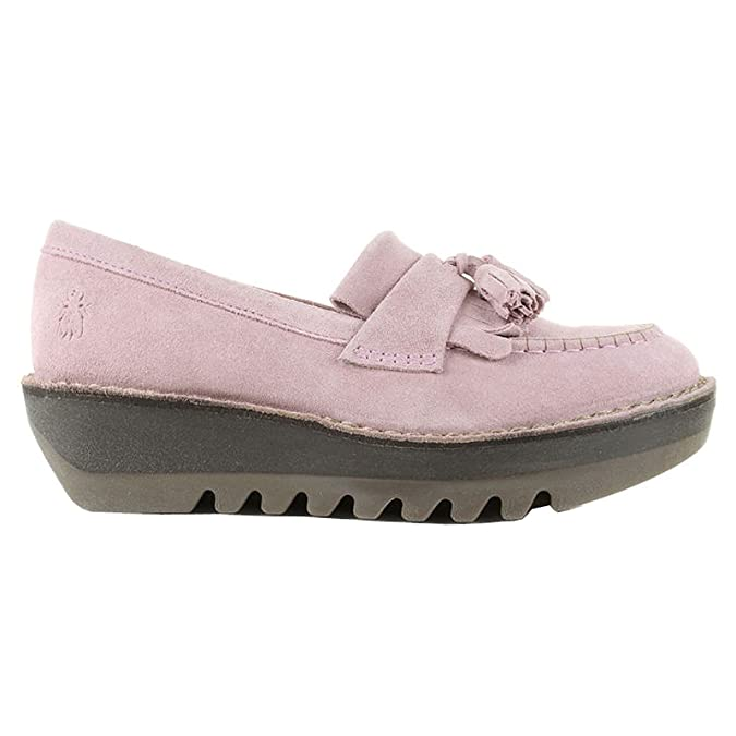 56c33c3e420 Size 7 Fly London Women s Juno Suede Loafers  Amazon.co.uk  Shoes   Bags