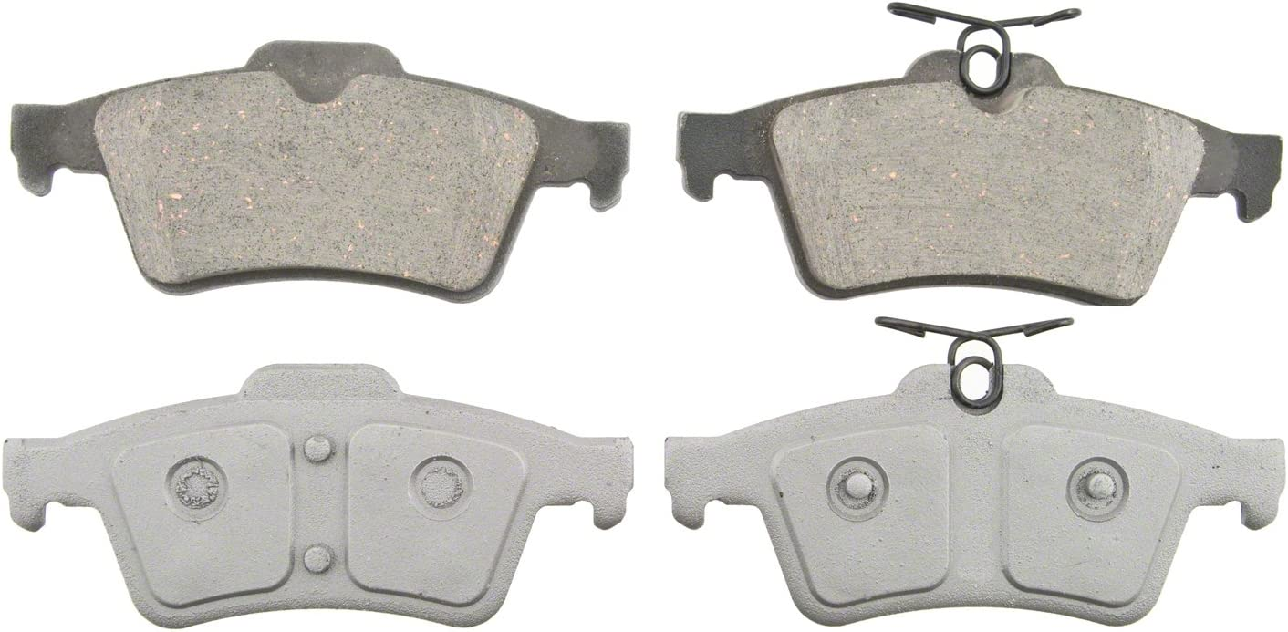 Disc Brake Pad Set-ThermoQuiet Disc Brake Pad Rear Wagner PD865
