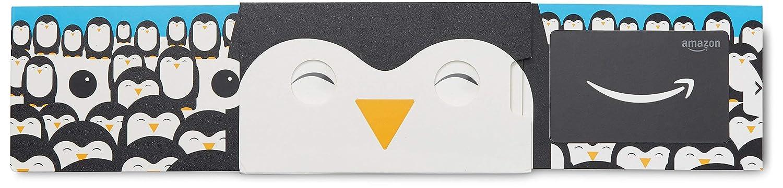 .com Gift Card in a Happy Penguin Slider VariableDenomination