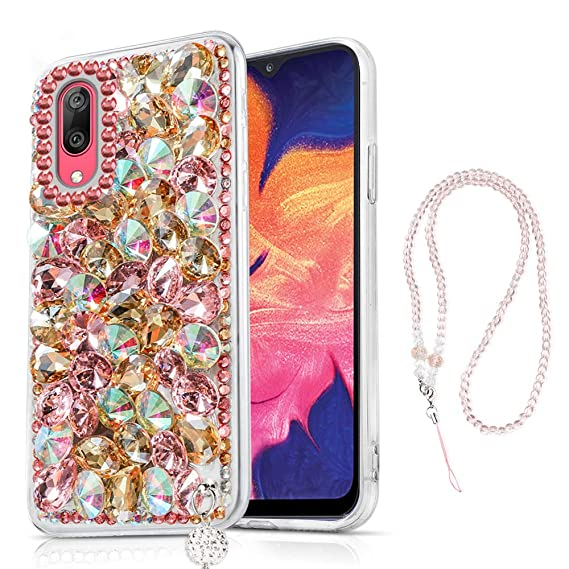 Amazon.com: Samsung Galaxy A10 Case, Bling Glitter Luxury ...
