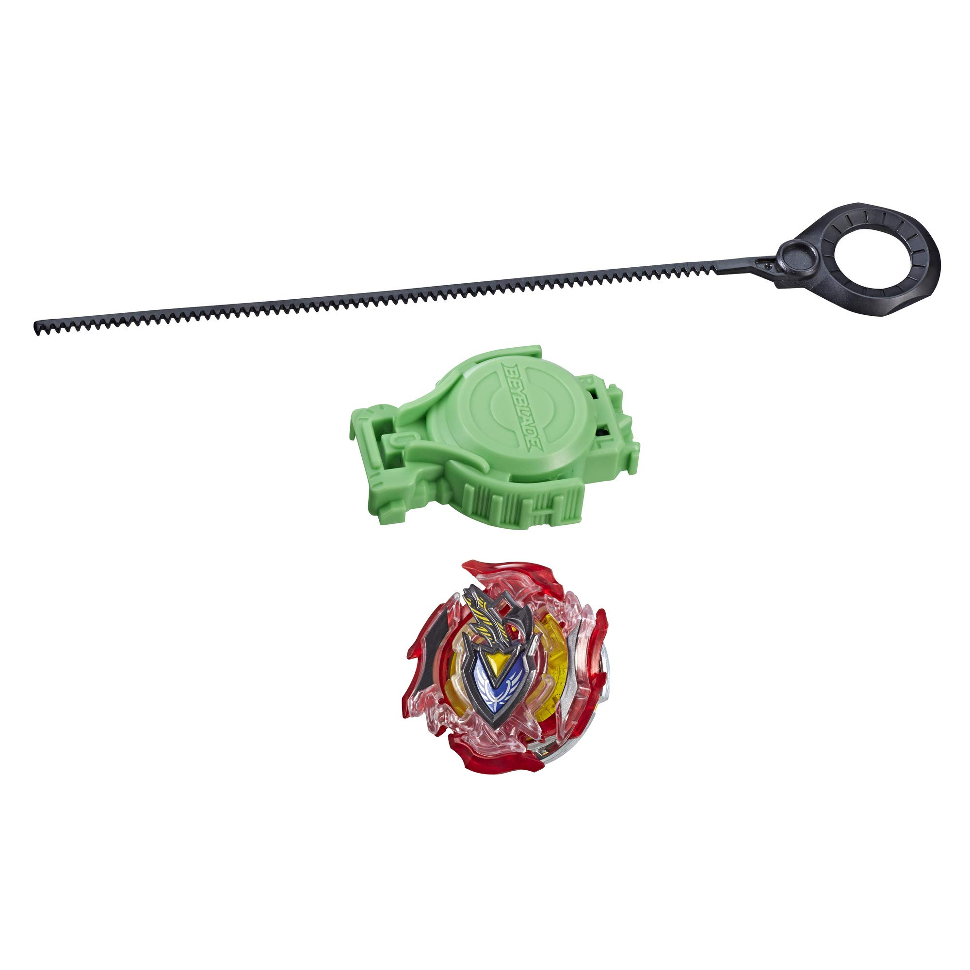 BEYBLADE Burst Slingshock Rip Fire Starter Pack Z Achilles A4: Battling Light-Up Top with Right/Left-Spin Launcher, Age 8+ by BEYBLADE