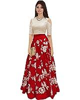 Nine Street Store Women's Silk Lehenga Choli (Free Size )