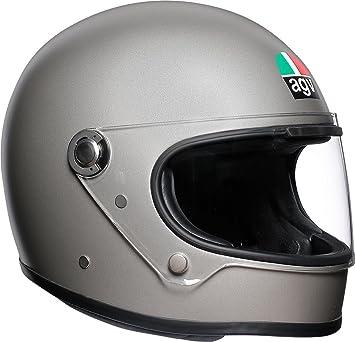AGV X3000 Llanura Mate Gris Motocicleta Casco