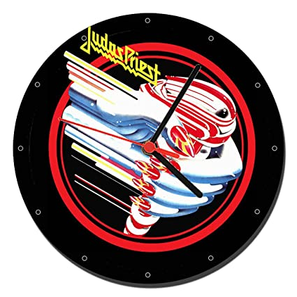 MasTazas Judas Priest Turbo Reloj de Pared Wall Clock 20cm