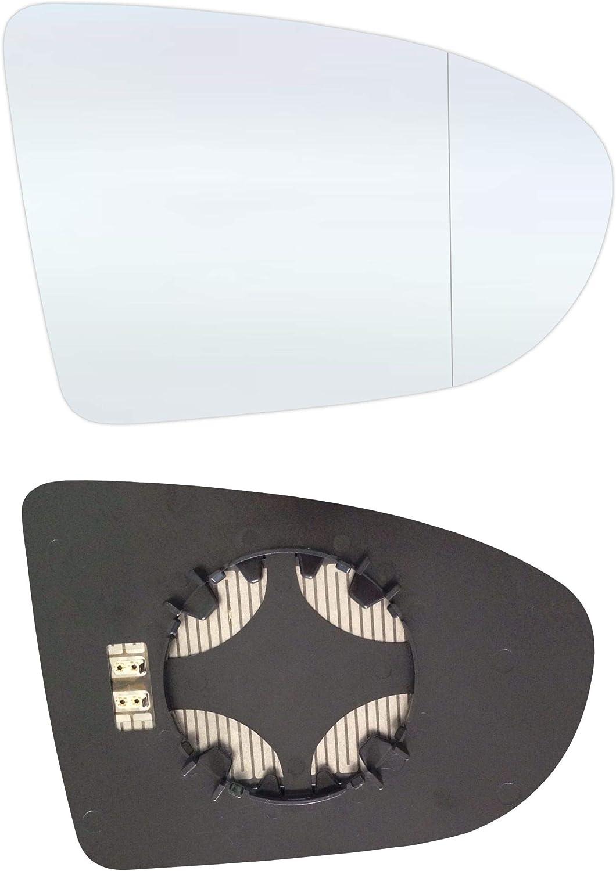 NQI06-RWAH C/ôt/é passager Asph/érique Miroir avec plaque et chauffage
