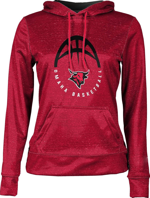 Heather School Spirit Sweatshirt ProSphere University of Nebraska at Omaha Basketball Girls Pullover Hoodie