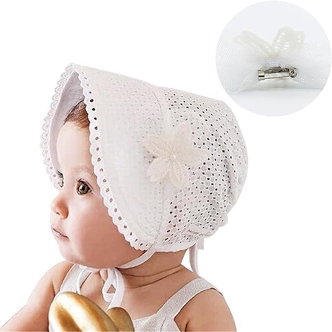 HBF Sombrero para bebé niña Talla única: Amazon.es: Ropa y accesorios