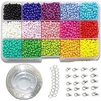 Ewparts 3mm Mini cuentas de cristal para los