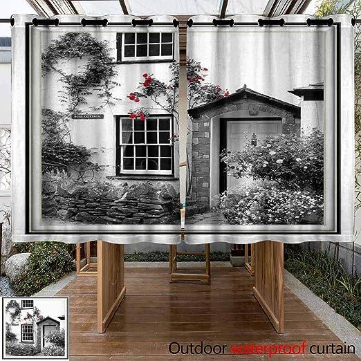 VIVIDX Panel de Cortina para Ventana Interior/Exterior,: Amazon.es: Jardín