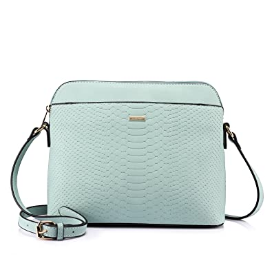 7f845378ed5a Stylish Crossbody Bags Purses Shoulder Bag for Women in Contrast Design  (Baby Blue)