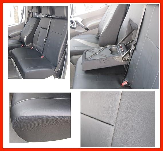 DKMOTO DK432P3 Tailored Seat Covers for Volkswagen Caddy Van 1+1 2003 onwards