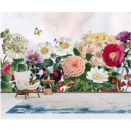 Bnuiboiuz Rose Photo Wall Pintado A Mano 3d Flower Wallpaper