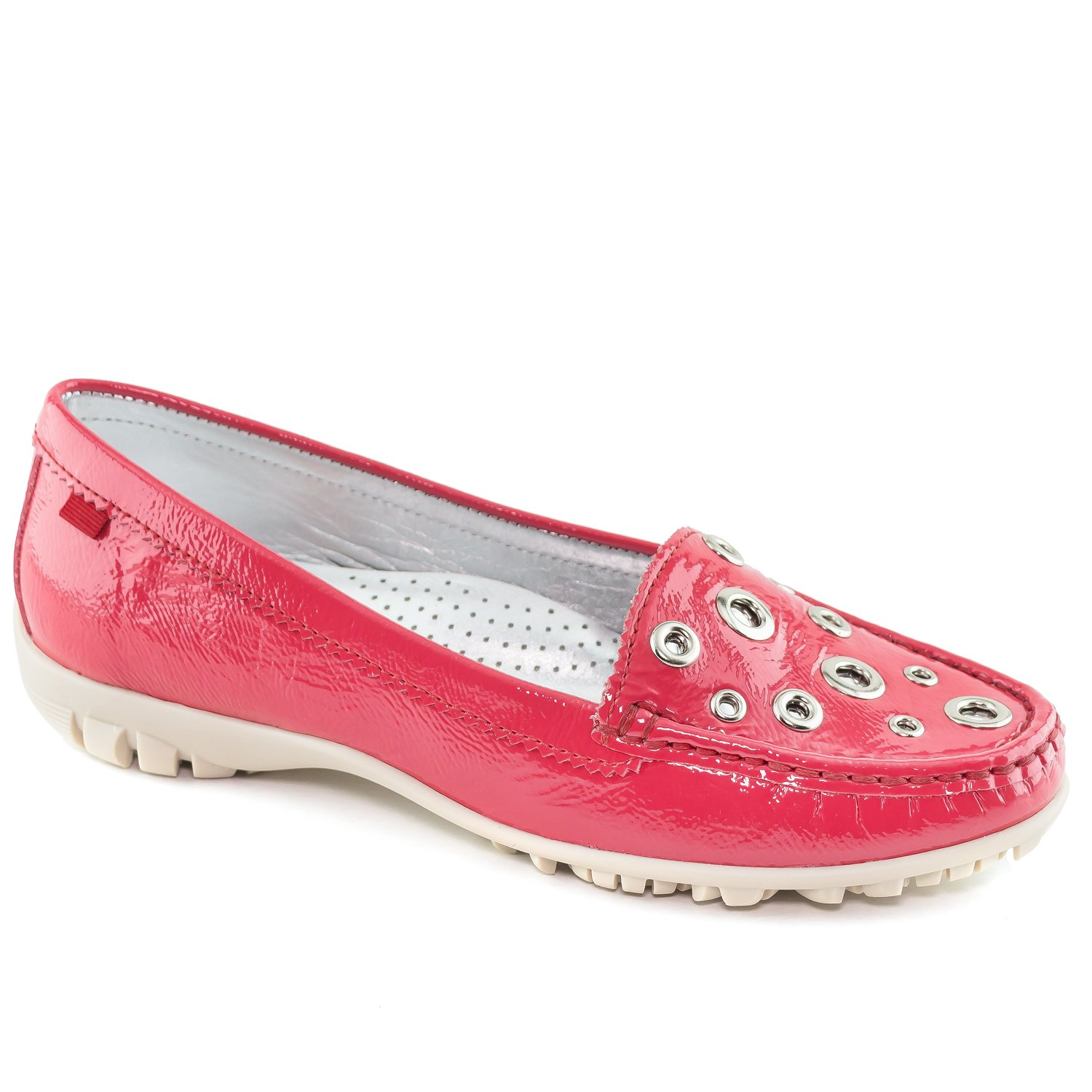 MARC JOSEPH NEW YORK Women's Fashion Shoes Mott Street Golf Pink Moccassin Size 6.5