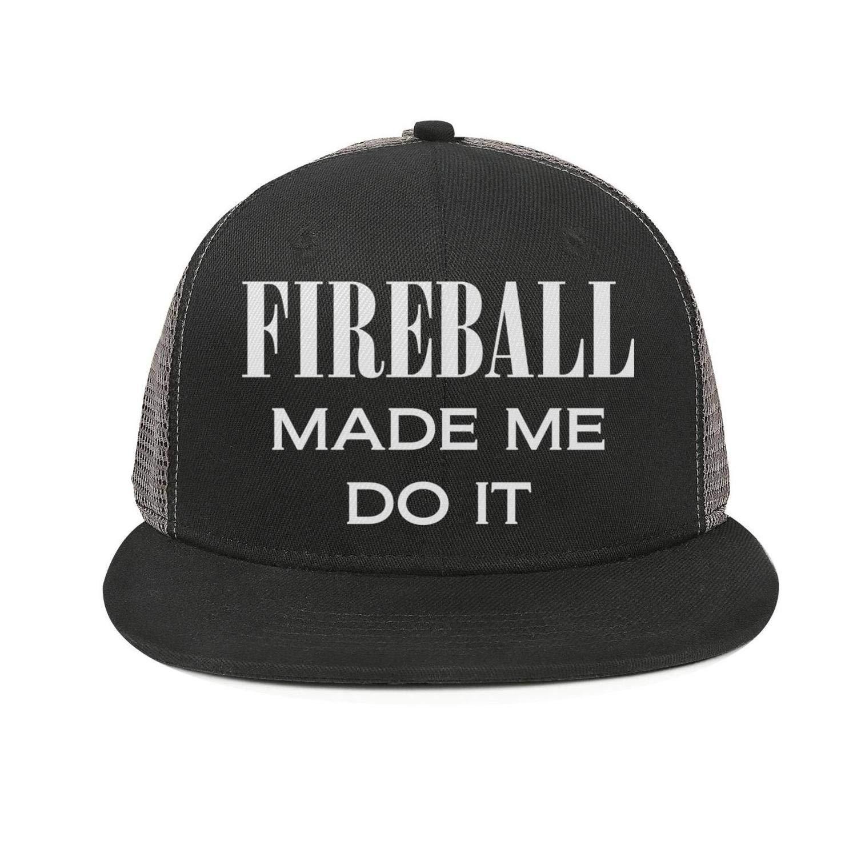 Fireball Truck Sales >> Amazon Com Bvbn Fireball Made Me Do It Unisex Mesh Baseball