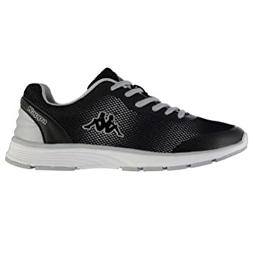 6ef8d21b6 Kappa Feller Running Shoes Womens Black Silver (UK4) (EU37) (US5 ...