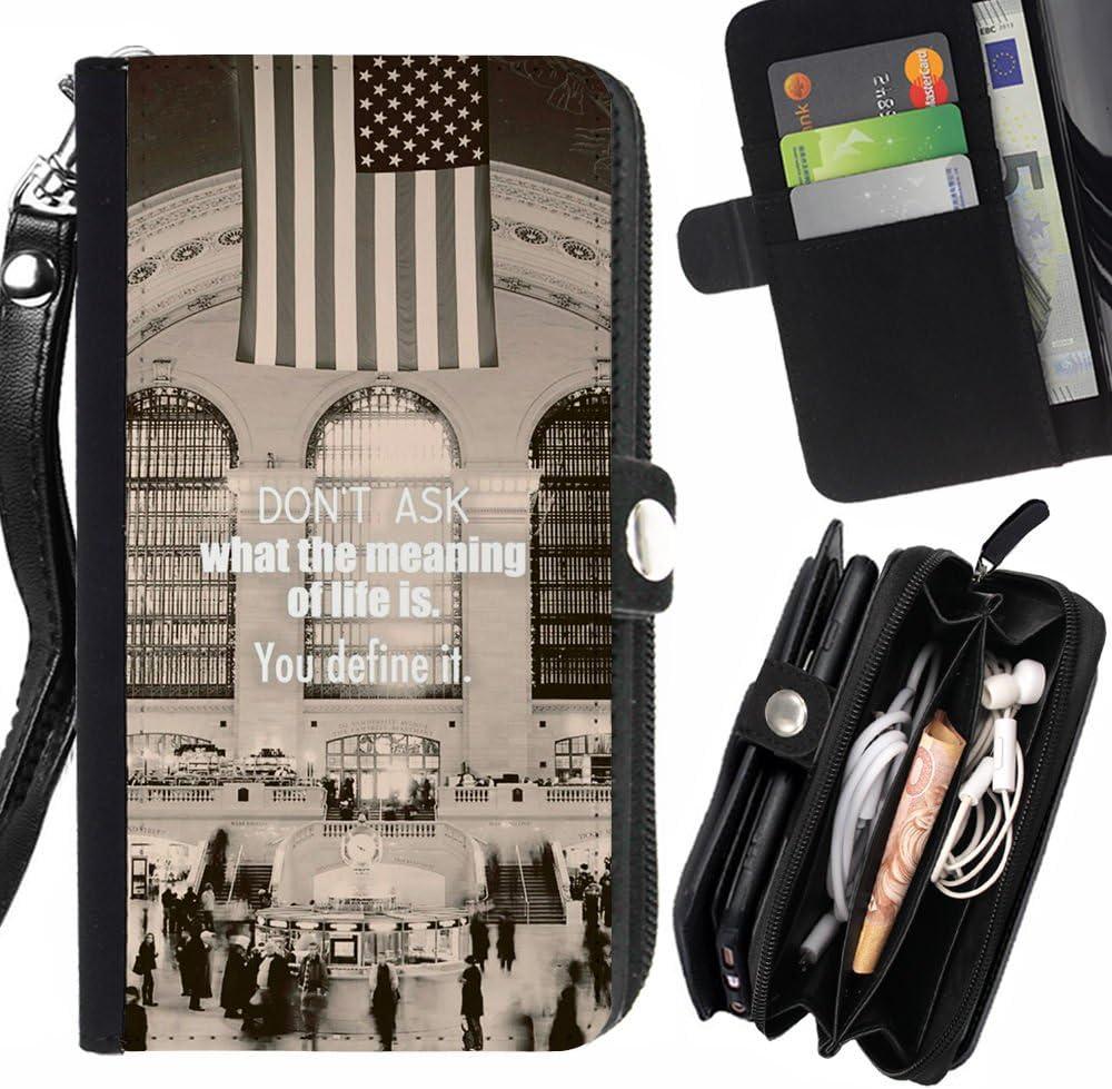 Subgiant Arte & Diseño Plástico Duro Fundas Cover Cubre Hard Case Cover Para HTC Desire 616 Dual Sim (Gran Estación Central significado de la vida arte de la palabra) : Amazon.es: Electrónica