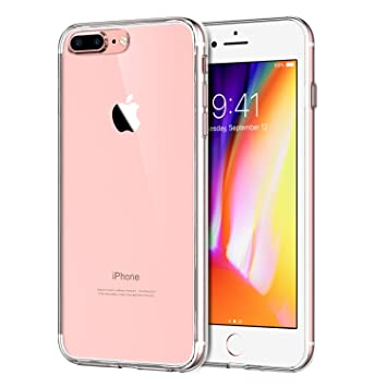 Para iPhone 7 Plus / iPhone 8 Plus Carcasa , YIGA Moda Cristal Transparente TPU Gel Cubierta De Silicona Suave Funda Tapa Case Cover para Apple iPhone ...