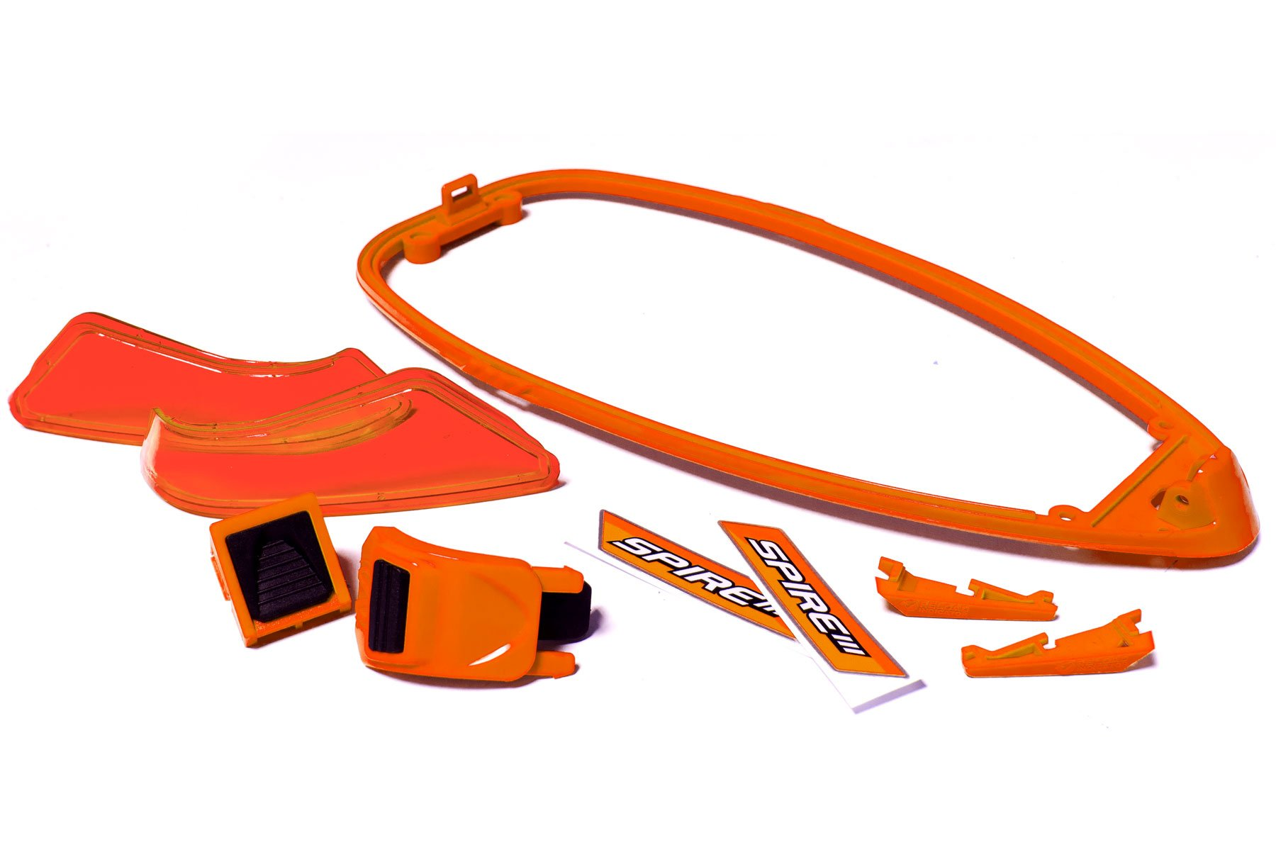 Virtue Paintball Spire III Loader Color Kit (Orange) by Virtue Paintball