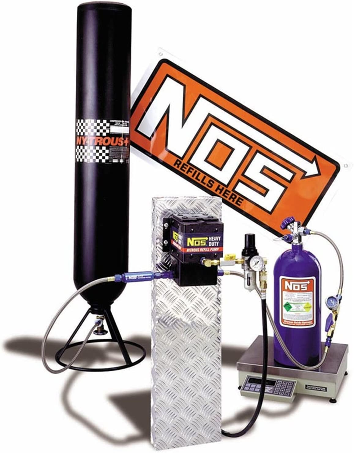 NOS 14251NOS Max 52% OFF Nitrous Oxide Limited Special Price Station Refill Kit