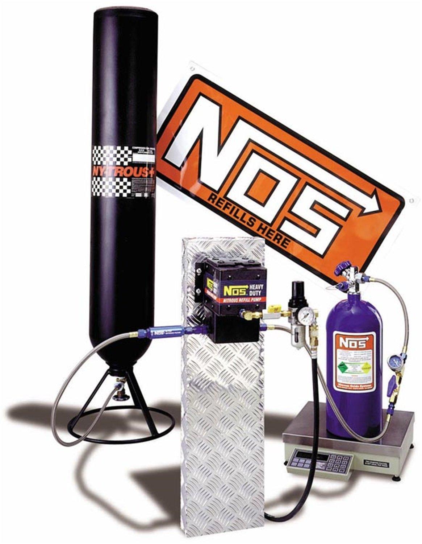 NOS 14251NOS Nitrous Oxide Refill Station Kit NOS/Nitrous Oxide System