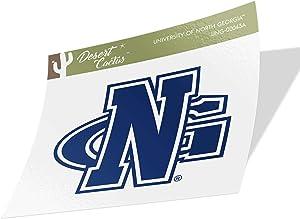University of North Georgia UNG Nighthawks NCAA Vinyl Decal Laptop Water Bottle Car Scrapbook (Sticker - 00043A)