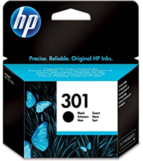 HP 301 - Cartucho de tinta Original HP 301 Negro para HP DeskJet, HP OfficeJet
