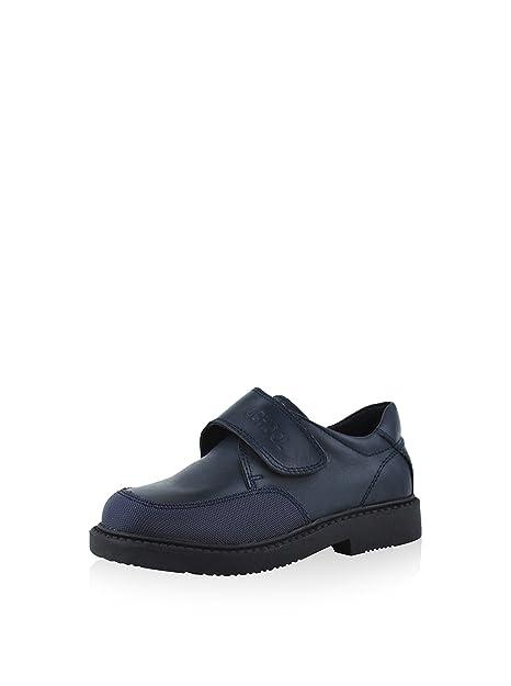 Chetto Zapatos Colegiales Line School Azul EU 39: Amazon.es: Zapatos y complementos