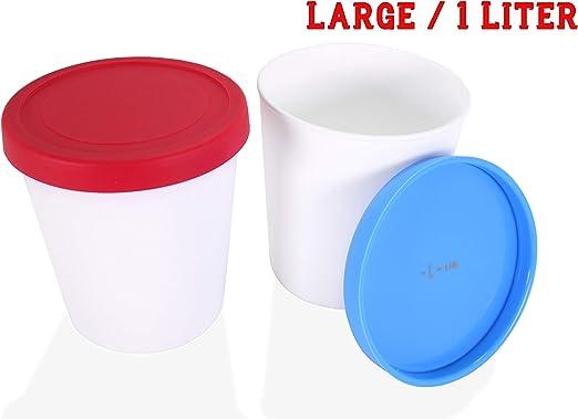 Amazon.com: LIN - Botes de almacenamiento para helados con ...