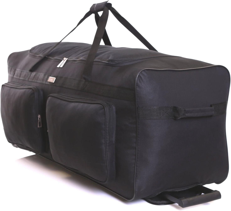 Slimbridge Sac de Voyage /à roulettes Grande XL 102 cm 2,9 kg 142 litres 2 Roues Loomis Noir
