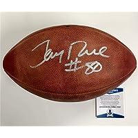 "$381 » 49ers JERRY RICE""#80"" Signed Wilson Official NFL Game Football BAS COA Beckett - Beckett Authentication"