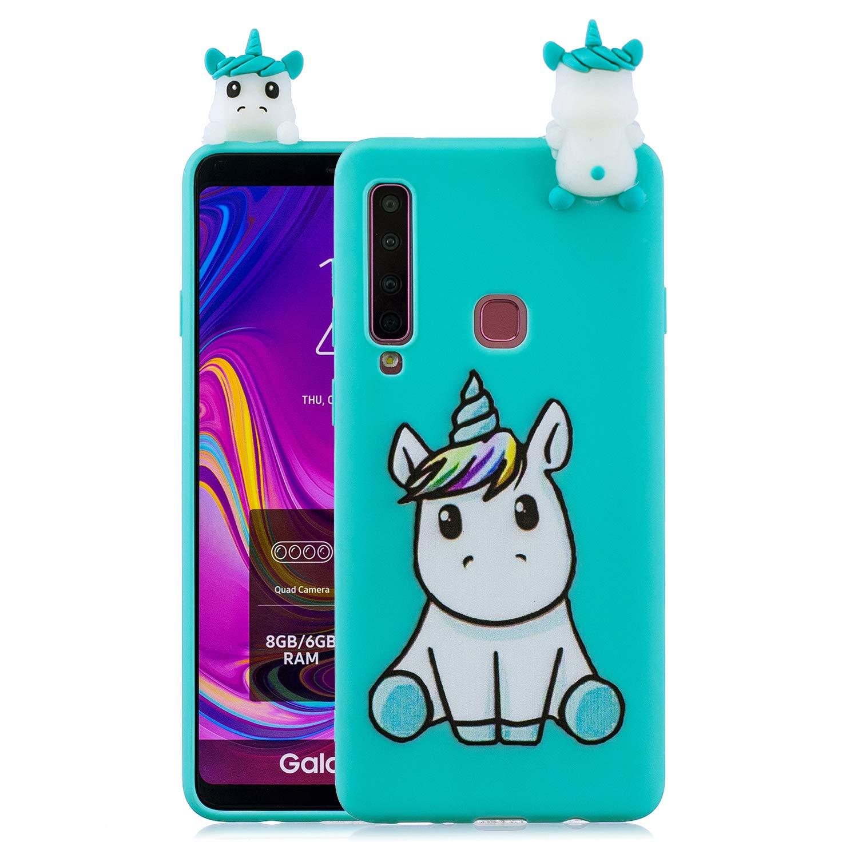 Carols Samsung Galaxy A9 (2018) Cover Custodia Protezione, Cassa del Telefono Bambola 3D, Protettiva Bumper Guscio per Samsung Galaxy A9 (2018)/A920 - A003