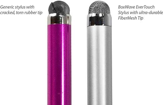 BoxWave Fiber Tip Capacitive Stylus Pen for Wooask W06 Wooask W06 Stylus Pen EverTouch Capacitive Stylus Jet Black